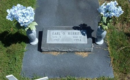 MERRITT, EARL O   (VETERAN WWII) - Morton County, Kansas   EARL O   (VETERAN WWII) MERRITT - Kansas Gravestone Photos
