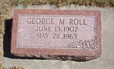 ROLL, GEORGE M - Morton County, Kansas | GEORGE M ROLL - Kansas Gravestone Photos