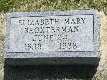 BROXTERMAN, ELIZABETH MARY - Nemaha County, Kansas | ELIZABETH MARY BROXTERMAN - Kansas Gravestone Photos