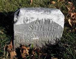 HASENKAMP, INFANT SON - Nemaha County, Kansas | INFANT SON HASENKAMP - Kansas Gravestone Photos