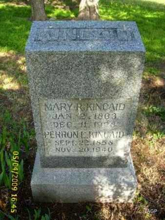 KINCAID, PERRON EMANUEL - Phillips County, Kansas | PERRON EMANUEL KINCAID - Kansas Gravestone Photos