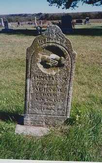 COOK, EMMETT A - Pottawatomie County, Kansas   EMMETT A COOK - Kansas Gravestone Photos