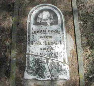 COOK, URIAH - Pottawatomie County, Kansas | URIAH COOK - Kansas Gravestone Photos