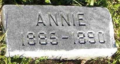 MCGERTY, ANNIE - Pottawatomie County, Kansas   ANNIE MCGERTY - Kansas Gravestone Photos