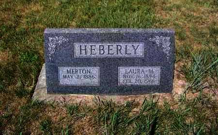 "SPARMAN HEBERLY, LAURA MARIE ""LAUIRE"" - Riley County, Kansas 