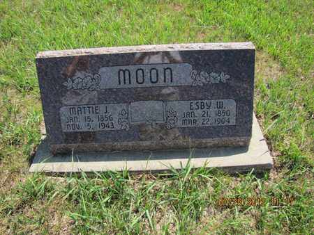 MOON, MATTIE J - Riley County, Kansas | MATTIE J MOON - Kansas Gravestone Photos