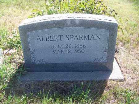 SPARMAN, ALBERT - Riley County, Kansas | ALBERT SPARMAN - Kansas Gravestone Photos
