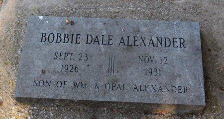 ALEXANDER, BOBBIE DALE - Sedgwick County, Kansas | BOBBIE DALE ALEXANDER - Kansas Gravestone Photos