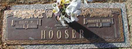HOOSER, DOROTHY IRENE - Sedgwick County, Kansas | DOROTHY IRENE HOOSER - Kansas Gravestone Photos