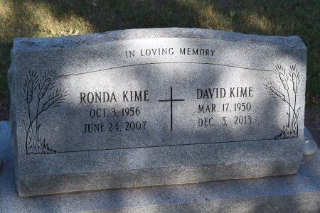 KIME, DAVID - Sedgwick County, Kansas | DAVID KIME - Kansas Gravestone Photos