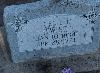 TWIST, CECIL L - Sedgwick County, Kansas | CECIL L TWIST - Kansas Gravestone Photos
