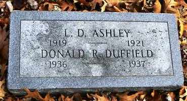 ASHLEY, L D - Shawnee County, Kansas | L D ASHLEY - Kansas Gravestone Photos