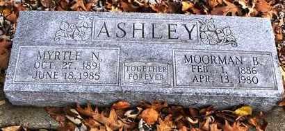 ASHLEY, MOORMAN B - Shawnee County, Kansas | MOORMAN B ASHLEY - Kansas Gravestone Photos