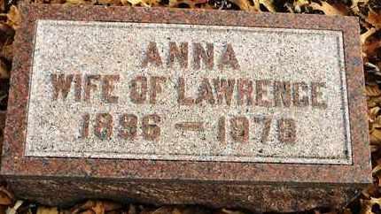 AUSHERMAN, ANNA - Shawnee County, Kansas | ANNA AUSHERMAN - Kansas Gravestone Photos