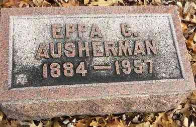 AUSHERMAN, EPPA C - Shawnee County, Kansas | EPPA C AUSHERMAN - Kansas Gravestone Photos