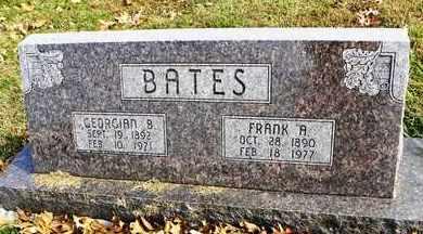 BATES, GEORGIAN B - Shawnee County, Kansas | GEORGIAN B BATES - Kansas Gravestone Photos
