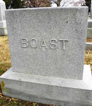 BOAST, FAMILY MONUMENT - Shawnee County, Kansas | FAMILY MONUMENT BOAST - Kansas Gravestone Photos