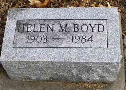 BOYD, HELEN M - Shawnee County, Kansas | HELEN M BOYD - Kansas Gravestone Photos