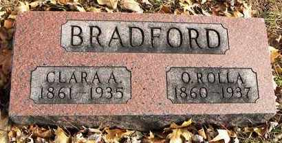 BRADFORD, ORLANDO ROLLA - Shawnee County, Kansas | ORLANDO ROLLA BRADFORD - Kansas Gravestone Photos