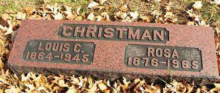 CHRISTMAN, LOUIS C - Shawnee County, Kansas | LOUIS C CHRISTMAN - Kansas Gravestone Photos