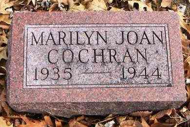 COCHRAN, MARILYN JOAN - Shawnee County, Kansas | MARILYN JOAN COCHRAN - Kansas Gravestone Photos