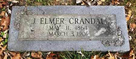 CRANDAL, J ELMER - Shawnee County, Kansas | J ELMER CRANDAL - Kansas Gravestone Photos