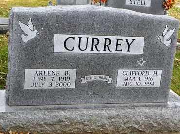 CURREY, ARLENE B - Shawnee County, Kansas | ARLENE B CURREY - Kansas Gravestone Photos