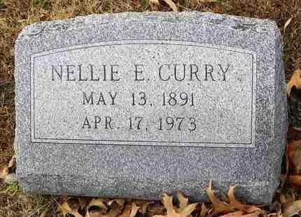 CURRY, NELLIE E - Shawnee County, Kansas | NELLIE E CURRY - Kansas Gravestone Photos