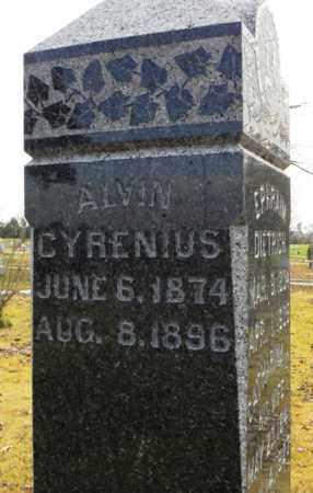 DIETRICH, ALVIN CYRENIUS - Shawnee County, Kansas | ALVIN CYRENIUS DIETRICH - Kansas Gravestone Photos
