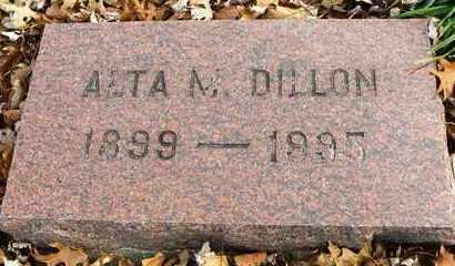 COOK DILLON, ALTA MABLE - Shawnee County, Kansas | ALTA MABLE COOK DILLON - Kansas Gravestone Photos