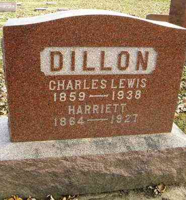 COOK DILLON, HARRIETT - Shawnee County, Kansas | HARRIETT COOK DILLON - Kansas Gravestone Photos