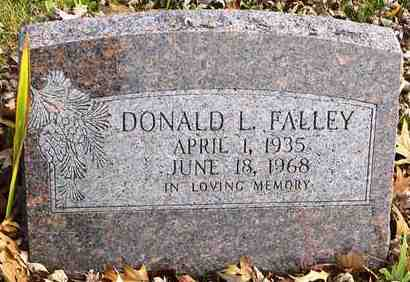 FALLEY, DONALD L - Shawnee County, Kansas | DONALD L FALLEY - Kansas Gravestone Photos
