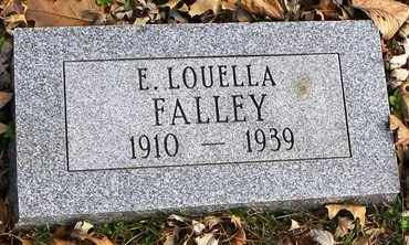 FALLEY, E LOUELLA - Shawnee County, Kansas   E LOUELLA FALLEY - Kansas Gravestone Photos