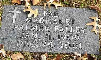 FALLEY, FAE MARGARET - Shawnee County, Kansas | FAE MARGARET FALLEY - Kansas Gravestone Photos
