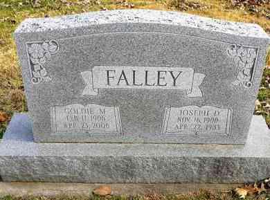 FALLEY, JOSEPH DORR - Shawnee County, Kansas | JOSEPH DORR FALLEY - Kansas Gravestone Photos