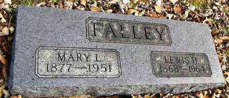 JACKSON FALLEY, MARY LOUISA - Shawnee County, Kansas | MARY LOUISA JACKSON FALLEY - Kansas Gravestone Photos
