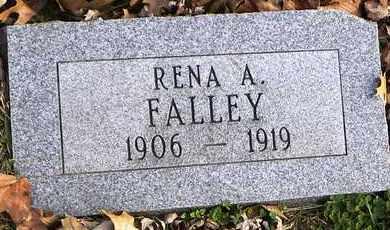 FALLEY, RENA - Shawnee County, Kansas   RENA FALLEY - Kansas Gravestone Photos