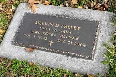 FALLEY, MELVIN D  (VETERAN 3 WARS) - Shawnee County, Kansas | MELVIN D  (VETERAN 3 WARS) FALLEY - Kansas Gravestone Photos