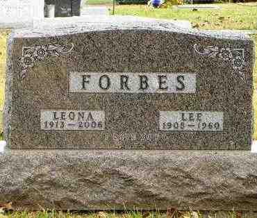 "FORBES, LELAND M ""LEE"" - Shawnee County, Kansas   LELAND M ""LEE"" FORBES - Kansas Gravestone Photos"