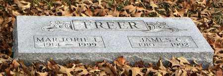 FREER, MARJORIE LOUISE - Shawnee County, Kansas | MARJORIE LOUISE FREER - Kansas Gravestone Photos