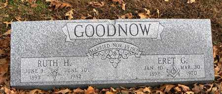 GOODNOW, ERET GILBERT - Shawnee County, Kansas | ERET GILBERT GOODNOW - Kansas Gravestone Photos