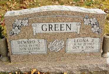 GREEN, DEWARD S - Shawnee County, Kansas | DEWARD S GREEN - Kansas Gravestone Photos