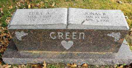 GREEN, LURA A - Shawnee County, Kansas | LURA A GREEN - Kansas Gravestone Photos