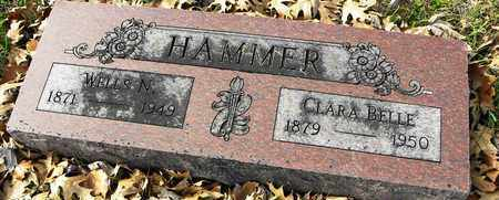 HAMMER, CLARA BELLE - Shawnee County, Kansas | CLARA BELLE HAMMER - Kansas Gravestone Photos