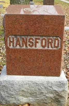 HANSFORD, FAMILY MONUMENT - Shawnee County, Kansas | FAMILY MONUMENT HANSFORD - Kansas Gravestone Photos