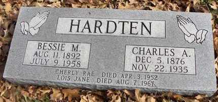 HARDTEN, BESSIE MYRTLE - Shawnee County, Kansas | BESSIE MYRTLE HARDTEN - Kansas Gravestone Photos