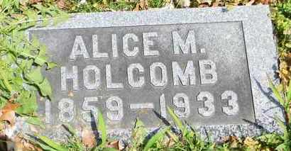 HOLCOMB, ALICE M - Shawnee County, Kansas | ALICE M HOLCOMB - Kansas Gravestone Photos