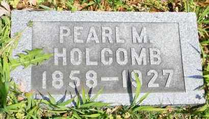 HOLCOMB, PEARL M - Shawnee County, Kansas | PEARL M HOLCOMB - Kansas Gravestone Photos