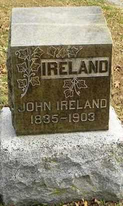 IRELAND, JOHN - Shawnee County, Kansas | JOHN IRELAND - Kansas Gravestone Photos