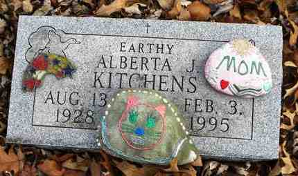 BAYER KITCHENS, ALBERTA JEAN - Shawnee County, Kansas | ALBERTA JEAN BAYER KITCHENS - Kansas Gravestone Photos